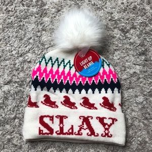 NWT American Eagle light up winter hat